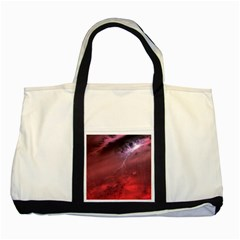 Storm Clouds And Rain Molten Iron May Be Common Occurrences Of Failed Stars Known As Brown Dwarfs Two Tone Tote Bag by Sapixe