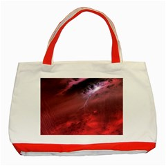 Storm Clouds And Rain Molten Iron May Be Common Occurrences Of Failed Stars Known As Brown Dwarfs Classic Tote Bag (red) by Sapixe