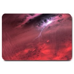 Storm Clouds And Rain Molten Iron May Be Common Occurrences Of Failed Stars Known As Brown Dwarfs Large Doormat  by Sapixe