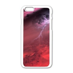 Storm Clouds And Rain Molten Iron May Be Common Occurrences Of Failed Stars Known As Brown Dwarfs Apple Iphone 6/6s White Enamel Case by Sapixe