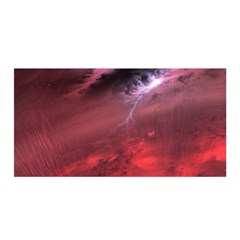 Storm Clouds And Rain Molten Iron May Be Common Occurrences Of Failed Stars Known As Brown Dwarfs Satin Wrap by Sapixe