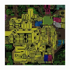 Technology Circuit Board Medium Glasses Cloth (2 Side) by Sapixe