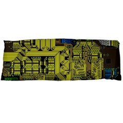 Technology Circuit Board Body Pillow Case (dakimakura) by Sapixe