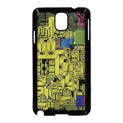 Technology Circuit Board Samsung Galaxy Note 3 Neo Hardshell Case (black) by Sapixe