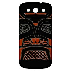 Traditional Northwest Coast Native Art Samsung Galaxy S3 S Iii Classic Hardshell Back Case by Sapixe