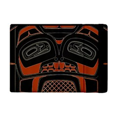 Traditional Northwest Coast Native Art Ipad Mini 2 Flip Cases by Sapixe