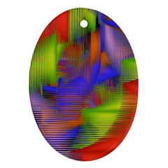 Texture Pattern Programming Processing Ornament (oval) by Sapixe