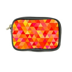 Triangle Tile Mosaic Pattern Coin Purse by Sapixe