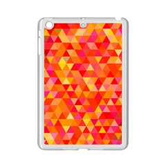 Triangle Tile Mosaic Pattern Ipad Mini 2 Enamel Coated Cases by Sapixe