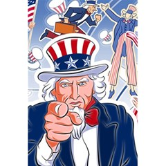 United States Of America Celebration Of Independence Day Uncle Sam 5 5  X 8 5  Notebooks by Sapixe