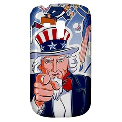 United States Of America Celebration Of Independence Day Uncle Sam Galaxy S3 Mini by Sapixe