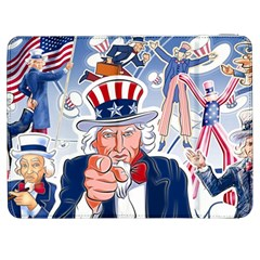 United States Of America Celebration Of Independence Day Uncle Sam Samsung Galaxy Tab 7  P1000 Flip Case by Sapixe