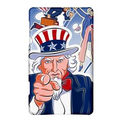 United States Of America Celebration Of Independence Day Uncle Sam Samsung Galaxy Tab S (8 4 ) Hardshell Case  by Sapixe