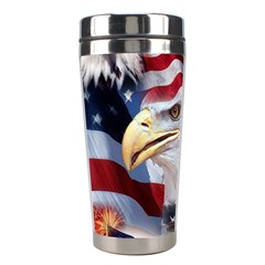 United States Of America Images Independence Day Stainless Steel Travel Tumblers by Sapixe