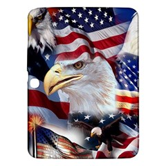 United States Of America Images Independence Day Samsung Galaxy Tab 3 (10 1 ) P5200 Hardshell Case  by Sapixe