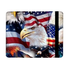 United States Of America Images Independence Day Samsung Galaxy Tab Pro 8 4  Flip Case by Sapixe