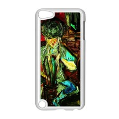 Girl In The Bar Apple Ipod Touch 5 Case (white)