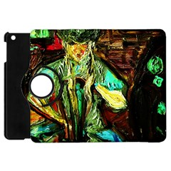 Girl In The Bar Apple Ipad Mini Flip 360 Case