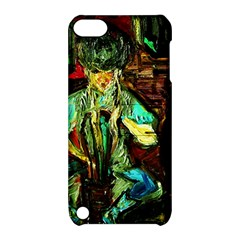 Girl In The Bar Apple Ipod Touch 5 Hardshell Case With Stand