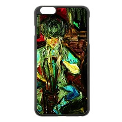 Girl In The Bar Apple Iphone 6 Plus/6s Plus Black Enamel Case