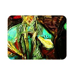 Girl In The Bar Double Sided Flano Blanket (mini)