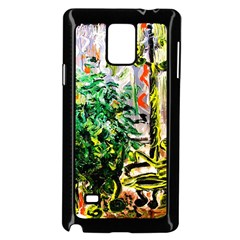 Plant In The Room  Samsung Galaxy Note 4 Case (black) by bestdesignintheworld