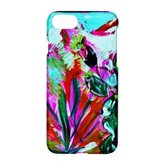 Desrt Blooming With Red Cactuses Apple Iphone 7 Hardshell Case by bestdesignintheworld