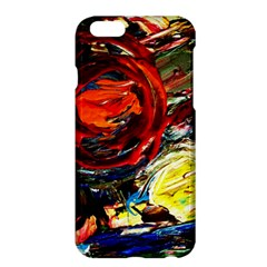 Red Sun In The Mountain Apple Iphone 6 Plus/6s Plus Hardshell Case by bestdesignintheworld