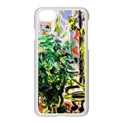 Dscf2188    Plant In The Room Apple Iphone 7 Seamless Case (white) by bestdesignintheworld