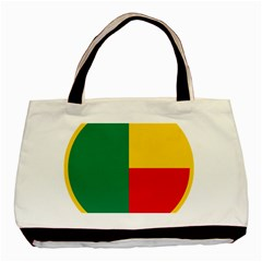 Air Force Roundel Of Benin Basic Tote Bag (two Sides) by abbeyz71