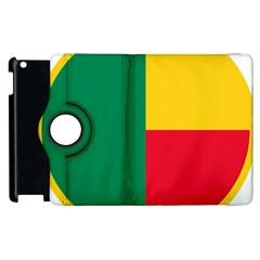 Air Force Roundel Of Benin Apple Ipad 3/4 Flip 360 Case by abbeyz71