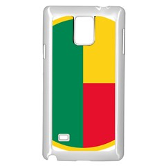 Air Force Roundel Of Benin Samsung Galaxy Note 4 Case (white) by abbeyz71