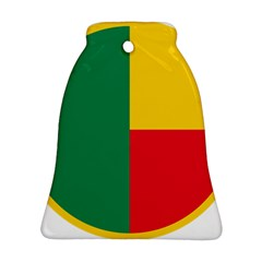 Air Force Roundel Of Benin Bell Ornament (two Sides)