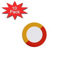 Bhutan Air Force Roundel 1  Mini Buttons (10 Pack)  by abbeyz71
