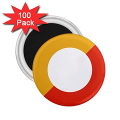 Bhutan Air Force Roundel 2 25  Magnets (100 Pack)  by abbeyz71
