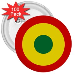 Roundel Of Bolivian Air Force 3  Buttons (100 Pack)  by abbeyz71