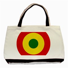 Roundel Of Bolivian Air Force Basic Tote Bag by abbeyz71