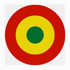 Roundel Of Bolivian Air Force Medium Glasses Cloth by abbeyz71