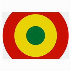 Roundel Of Bolivian Air Force Large Glasses Cloth (2 Side) by abbeyz71