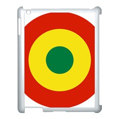Roundel Of Bolivian Air Force Apple Ipad 3/4 Case (white) by abbeyz71