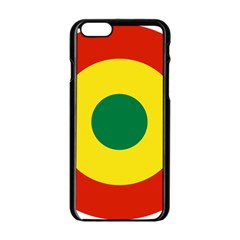 Roundel Of Bolivian Air Force Apple Iphone 6/6s Black Enamel Case by abbeyz71