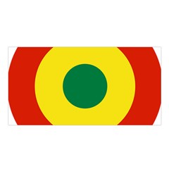 Roundel Of Bolivian Air Force Satin Shawl by abbeyz71