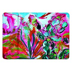 Dscf1472   Copy   Blooming Desert With Red Cactuses Samsung Galaxy Tab 8 9  P7300 Flip Case by bestdesignintheworld