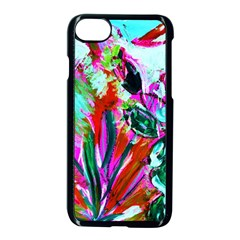 Dscf1472   Copy   Blooming Desert With Red Cactuses Apple Iphone 7 Seamless Case (black) by bestdesignintheworld