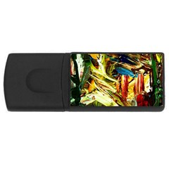 Dscf2289  Mountain Road Rectangular Usb Flash Drive by bestdesignintheworld
