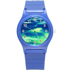 Dscf3194 Limits In The Sky Round Plastic Sport Watch (s) by bestdesignintheworld
