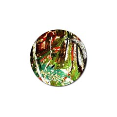 April      Birds Of Paradise Golf Ball Marker (4 Pack) by bestdesignintheworld