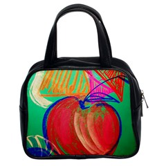 Dscf1425 (1)   Fruits And Geometry 2 Classic Handbags (2 Sides) by bestdesignintheworld