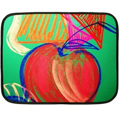 Dscf1425 (1)   Fruits And Geometry 2 Double Sided Fleece Blanket (mini)  by bestdesignintheworld