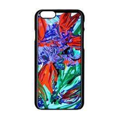 Dscf1366   Birds Of Paradise Apple Iphone 6/6s Black Enamel Case by bestdesignintheworld